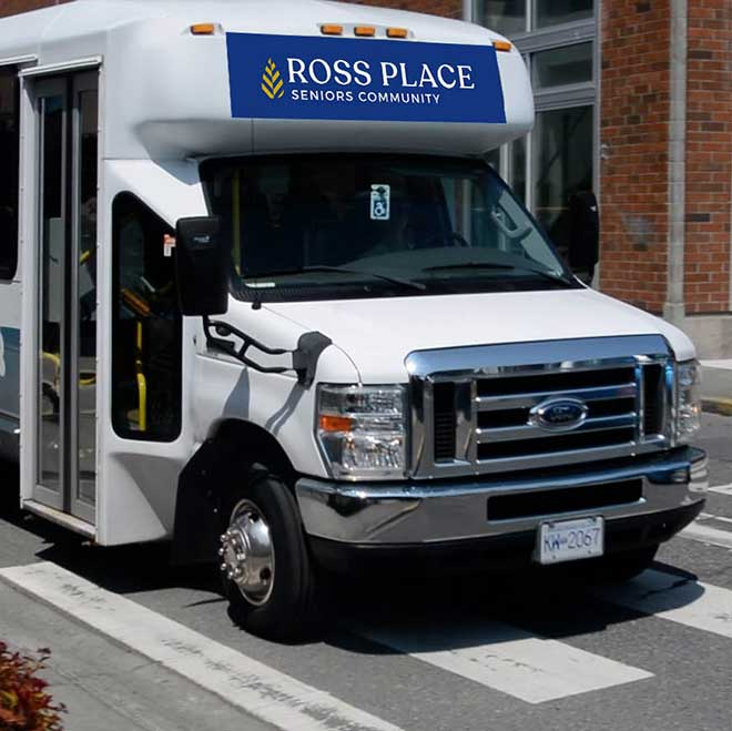 Ross Place Inclusive Services Transportation Bus
